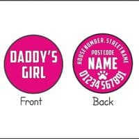 Personalised Dog ID Tag - Daddy's Girl